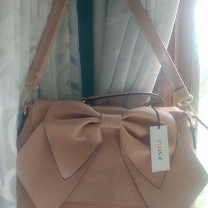JustFab New W/tags bow purse